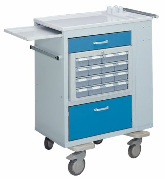 Dual-sided Medication Cart